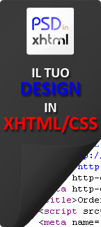 Psd in Xhtml
